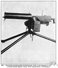 Browning machine gun - a belt-fed machine gun capable of firing more than 500 rounds per minute