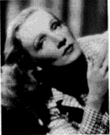 Dietrich - United States film actress (born in Germany) who made many films with Josef von Sternberg and later was a successful cabaret star (1901-1992)