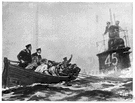 lifeboat - a strong sea boat designed to rescue people from a sinking ship