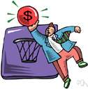 professional basketball - playing basketball for money