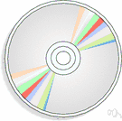 optical disk - a disk coated with plastic that can store digital data as tiny pits etched in the surface