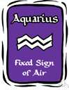 Aquarius the Water Bearer - the eleventh sign of the zodiac