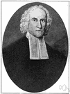 Jonathan Edwards - American theologian whose sermons and writings stimulated a period of renewed interest in religion in America (1703-1758)