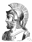 Themistocles - Athenian statesman who persuaded Athens to build a navy and then led it to victory over the Persians (527-460 BC)