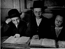 yeshiva - an academy for the advanced study of Jewish texts (primarily the Talmud)