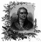 Banks - English botanist who accompanied Captain Cook on his first voyage to the Pacific Ocean (1743-1820)