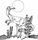 coelophysis - one of the oldest known dinosaurs