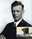 Charles Augustus Lindbergh - United States aviator who in 1927 made the first solo nonstop flight across the Atlantic Ocean (1902-1974)
