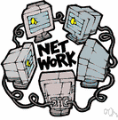 computer network - (computer science) a network of computers