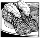 lobster tail - lobster tail meat
