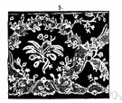 Brussels lace - fine lace with a raised or applique design