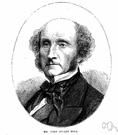 John Stuart Mill - English philosopher and economist remembered for his interpretations of empiricism and utilitarianism (1806-1873)