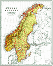 Scandinavian Peninsula - the peninsula in northern Europe occupied by Norway and Sweden
