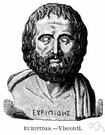 Euripides - one of the greatest tragic dramatists of ancient Greece (480-406 BC)