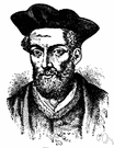 Francois Rabelais - author of satirical attacks on medieval scholasticism (1494-1553)