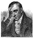 William Wordsworth - a romantic English poet whose work was inspired by the Lake District where he spent most of his life (1770-1850)