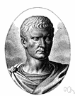 Tully - a Roman statesman and orator remembered for his mastery of Latin prose (106-43 BC)