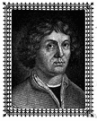 Nicolaus Copernicus - Polish astronomer who produced a workable model of the solar system with the sun in the center (1473-1543)