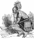 Iroquois - any member of the warlike North American Indian peoples formerly living in New York State