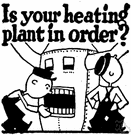 heating plant - utility to warm a building