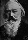 Brahms - German composer who developed the romantic style of both lyrical and classical music (1833-1897)