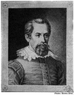 Johannes Kepler - German astronomer who first stated laws of planetary motion (1571-1630)
