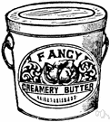 creamery - a workplace where dairy products (butter and cheese etc.) are produced or sold