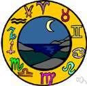 astrological - relating to or concerned with astrology