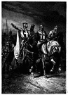 Tancred - Norman leader in the First Crusade who played an important role in the capture of Jerusalem (1078-1112)