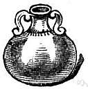 ampulla - a flask that has two handles