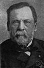 Pasteur - French chemist and biologist whose discovery that fermentation is caused by microorganisms resulted in the process of pasteurization (1822-1895)