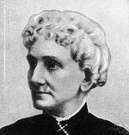 Mary Morse Baker Eddy - founder of Christian Science in 1866 (1821-1910)