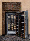bank vault - a strongroom or compartment (often made of steel) for safekeeping of valuables