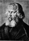 Jerome - (Roman Catholic Church) one of the great Fathers of the early Christian Church whose major work was his translation of the Scriptures from Hebrew and Greek into Latin (which became the Vulgate)