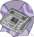 print media - a medium that disseminates printed matter