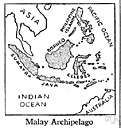 Malay - of or relating to or characteristic of the people or language of Malaysia and the northern Malay Peninsula and parts of the western Malay Archipelago