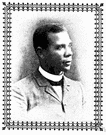Booker Taliaferro Washington - United States educator who was born a slave but became educated and founded a college at Tuskegee in Alabama (1856-1915)