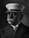Count Ferdinand von Zeppelin - German inventor who designed and built the first rigid motorized dirigible (1838-1917)