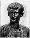 Gaius - Roman Emperor who succeeded Tiberius and whose uncontrolled passions resulted in manifest insanity
