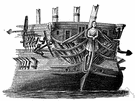 man-of-war - a warship intended for combat