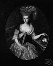 Marie Antoinette - queen of France (as wife of Louis XVI) who was unpopular