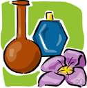 attar of roses - a volatile fragrant oil obtained from fresh roses by steam distillation