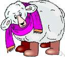 wool - outer coat of especially sheep and yaks