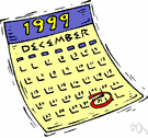 calendar year - the year (reckoned from January 1 to December 31) according to Gregorian calendar