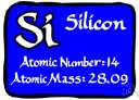 silicon - a tetravalent nonmetallic element
