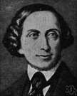 Hans Christian Andersen - a Danish author remembered for his fairy stories (1805-1875)