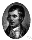 Robert Burns - celebrated Scottish poet (1759-1796)