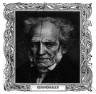 Schopenhauer - German pessimist philosopher (1788-1860)