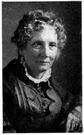 Harriet Beecher Stowe - United States writer of a novel about slavery that advanced the abolitionists' cause (1811-1896)
