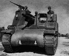 tank destroyer - an armored vehicle equipped with an antitank gun and capable of high speeds